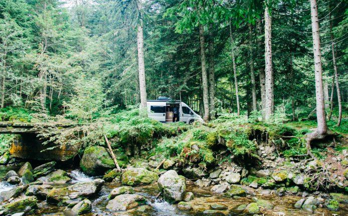 Boréon en camping car