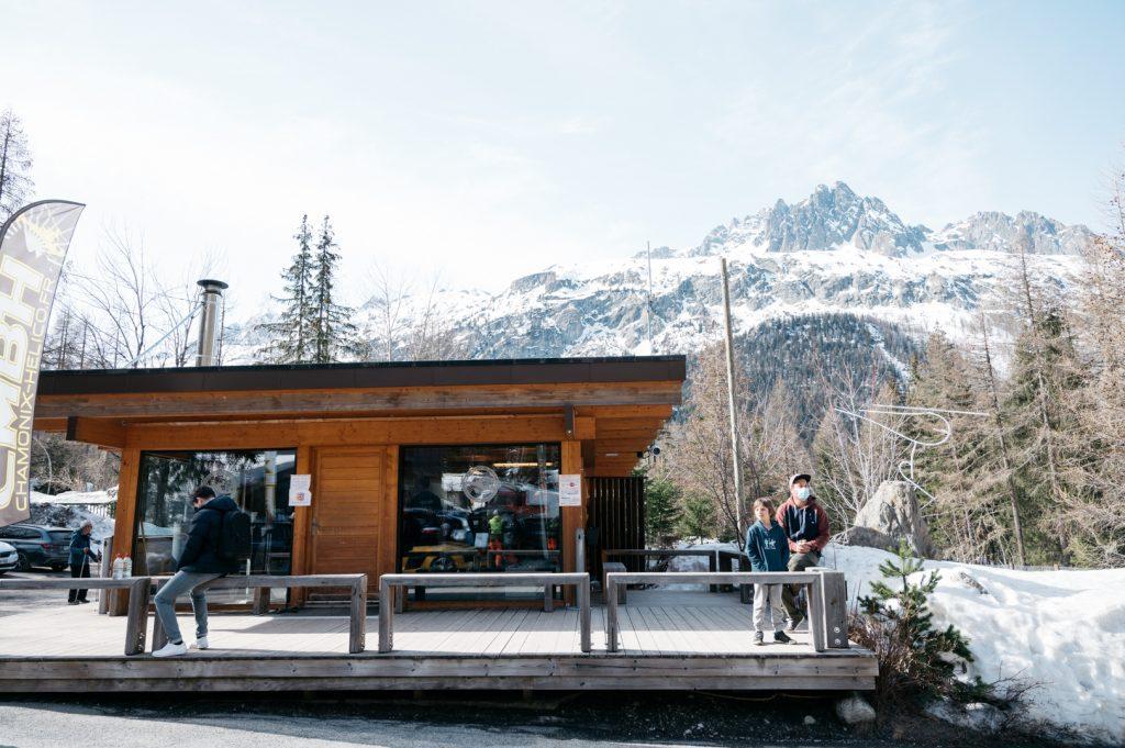 Chamonix Mont Blanc hélicoptère