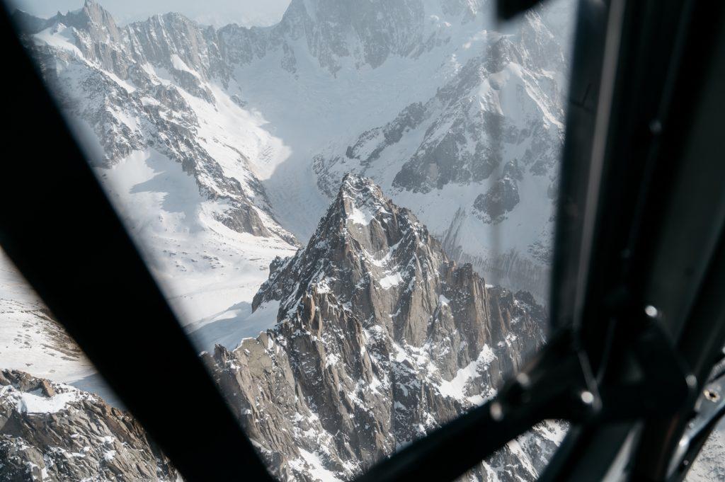 Chamonix hélicoptère mont blanc
