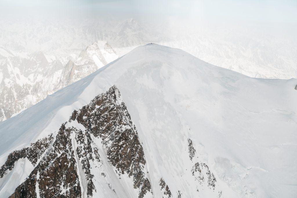 Mont blanc helico en famille