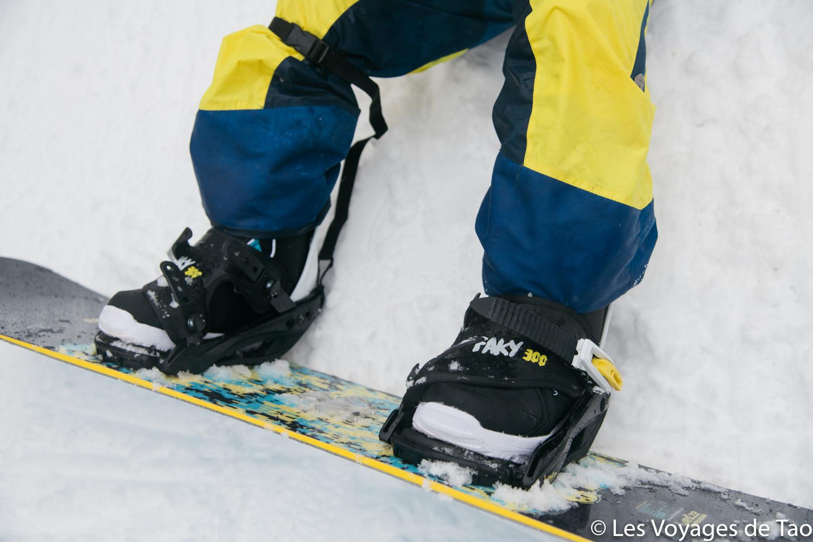 matériel snowboard enfant