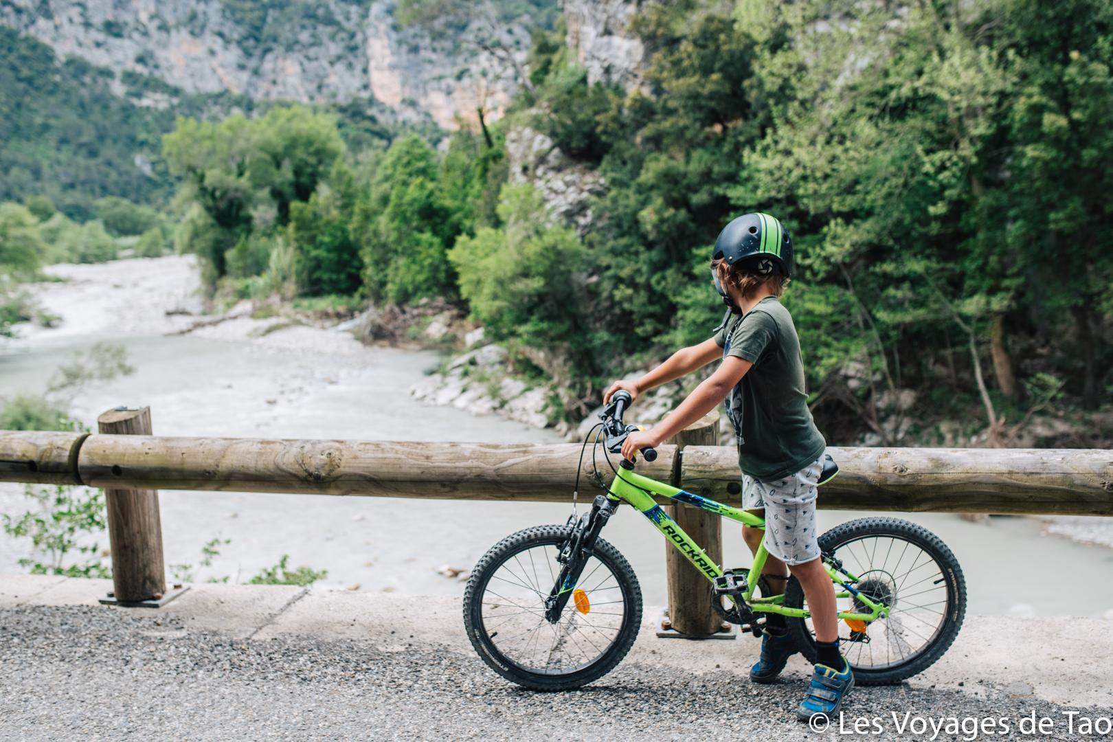 Idée sortie vélo famille alpes maritimes