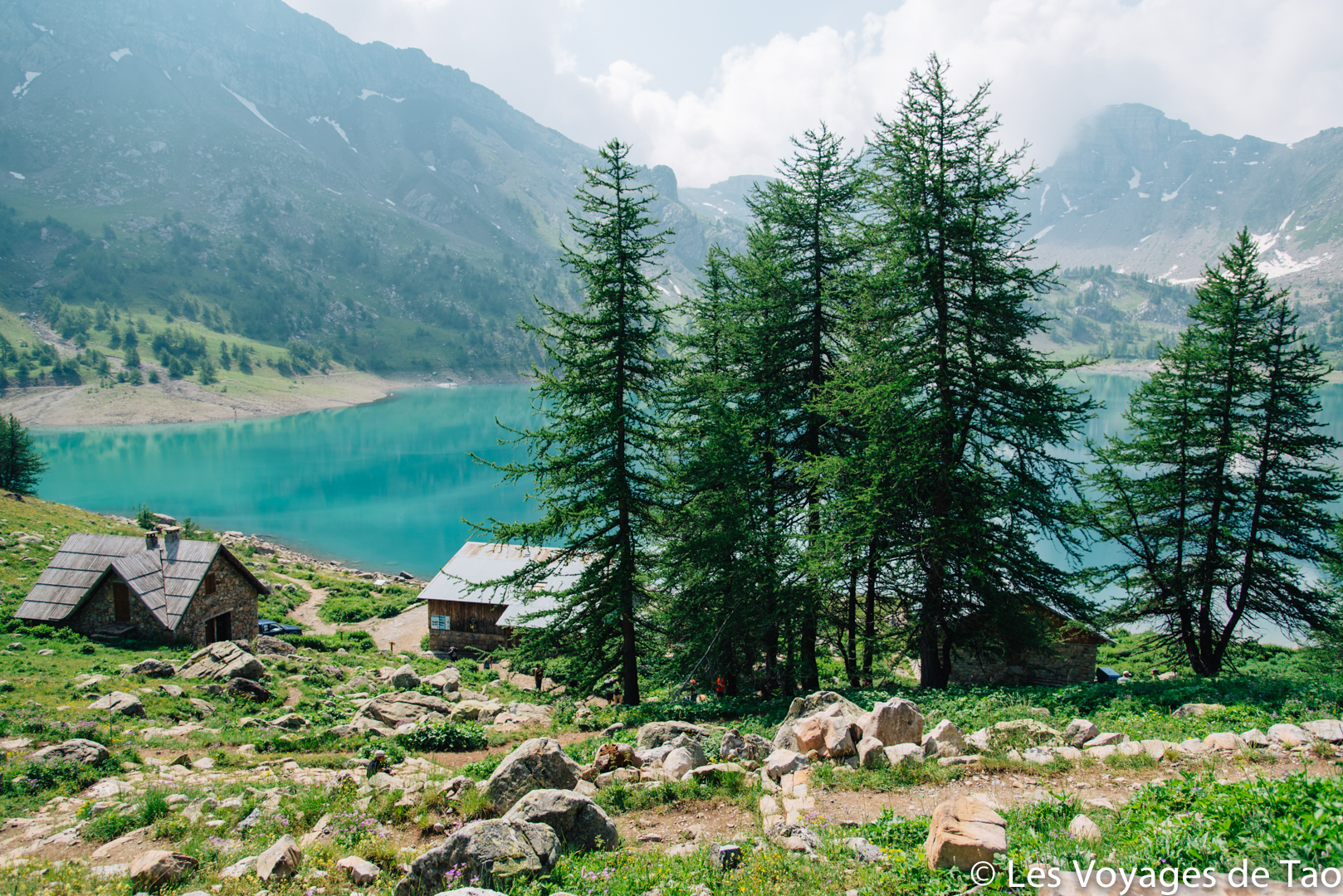 Lac d'allos randonnée en famille