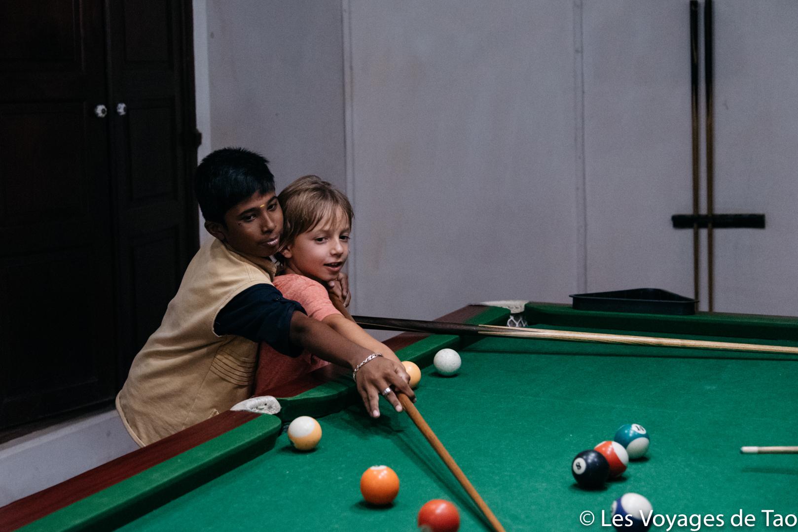 Voyager avec des enfants en Inde