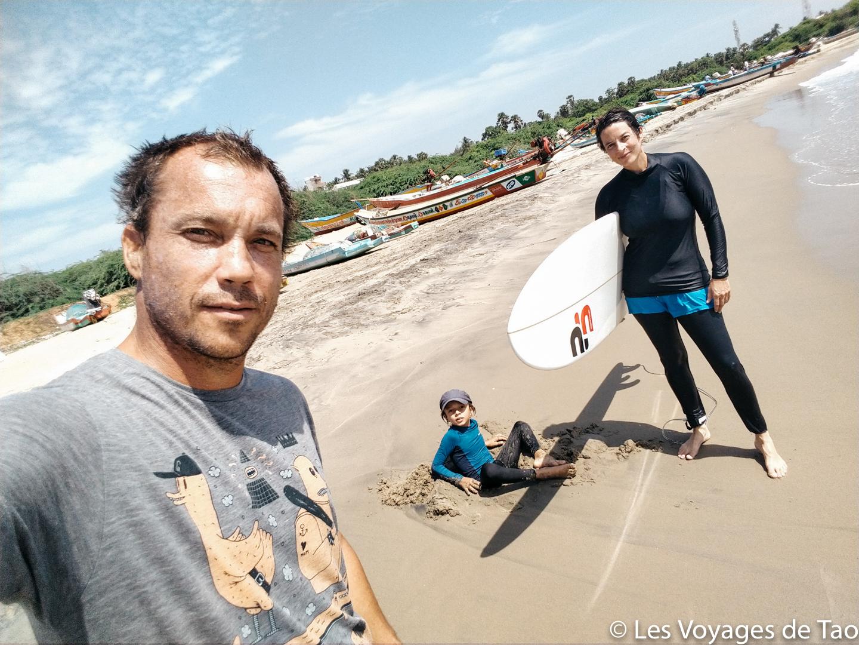 Surftrip en Inde