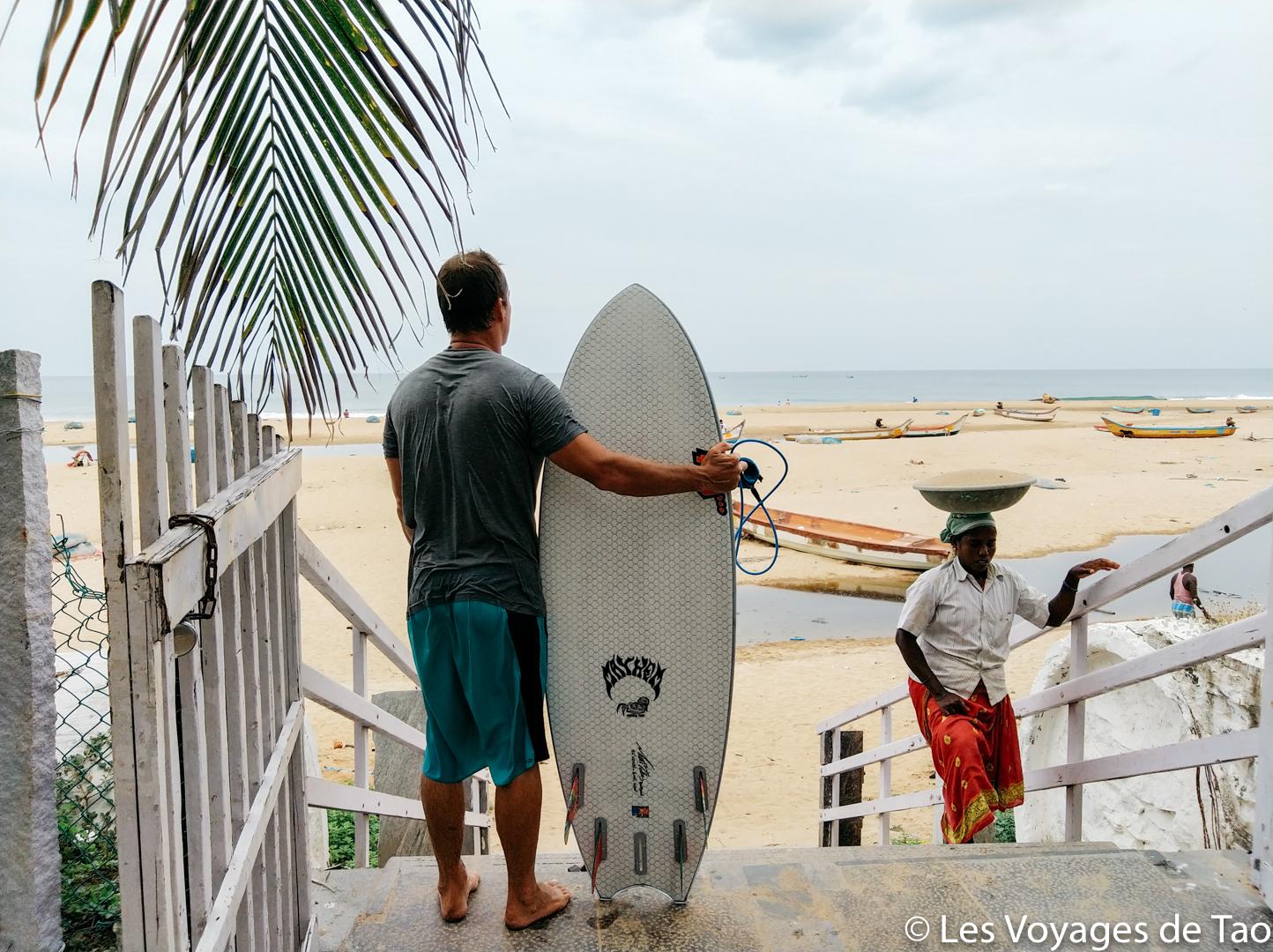 Surftrip en Inde Tamil Nadu