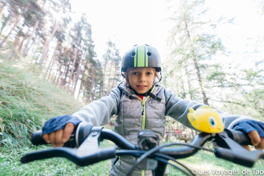 Test vélo enfant