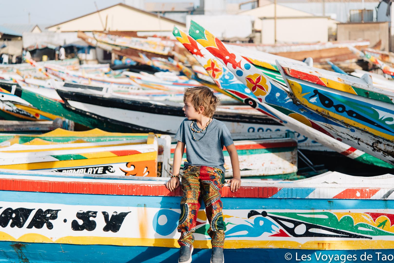 Voyager en famille au Sénégal