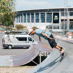 Skate à Ferrol