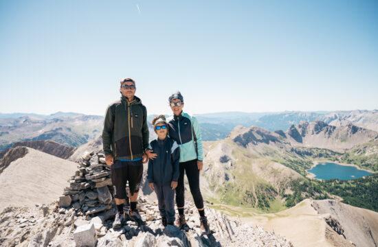 Randonnée Mont Pelat en famille