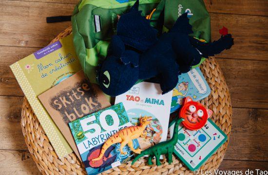Occuper son enfant en avion blog voyage famille