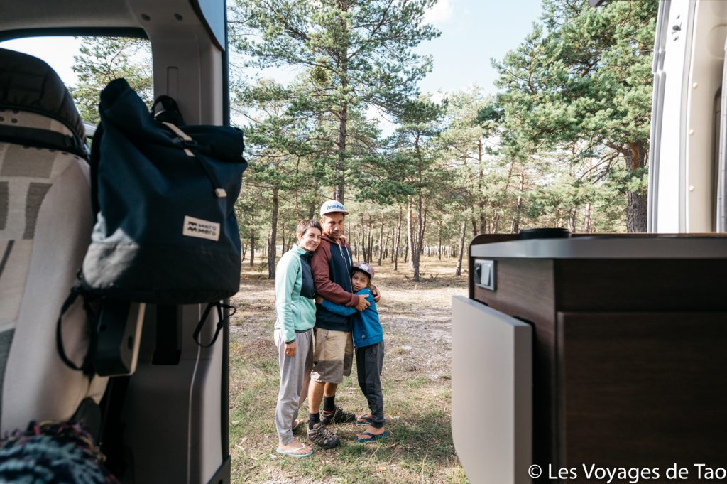 Vanlife Roadtrip en famille