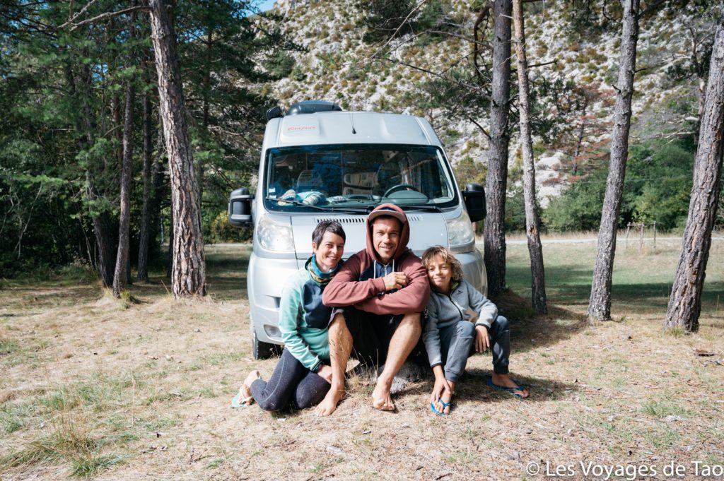 Vanlife en famille Les voyages de Tao