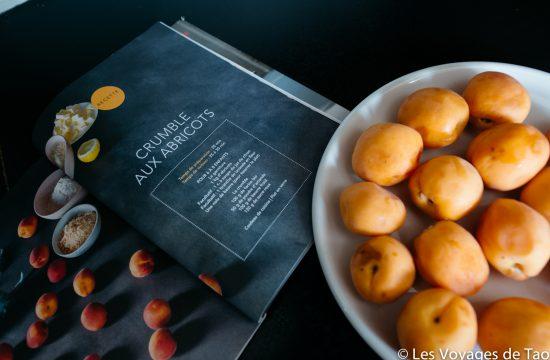 Recette crumble aux abricots à faire avec des enfants