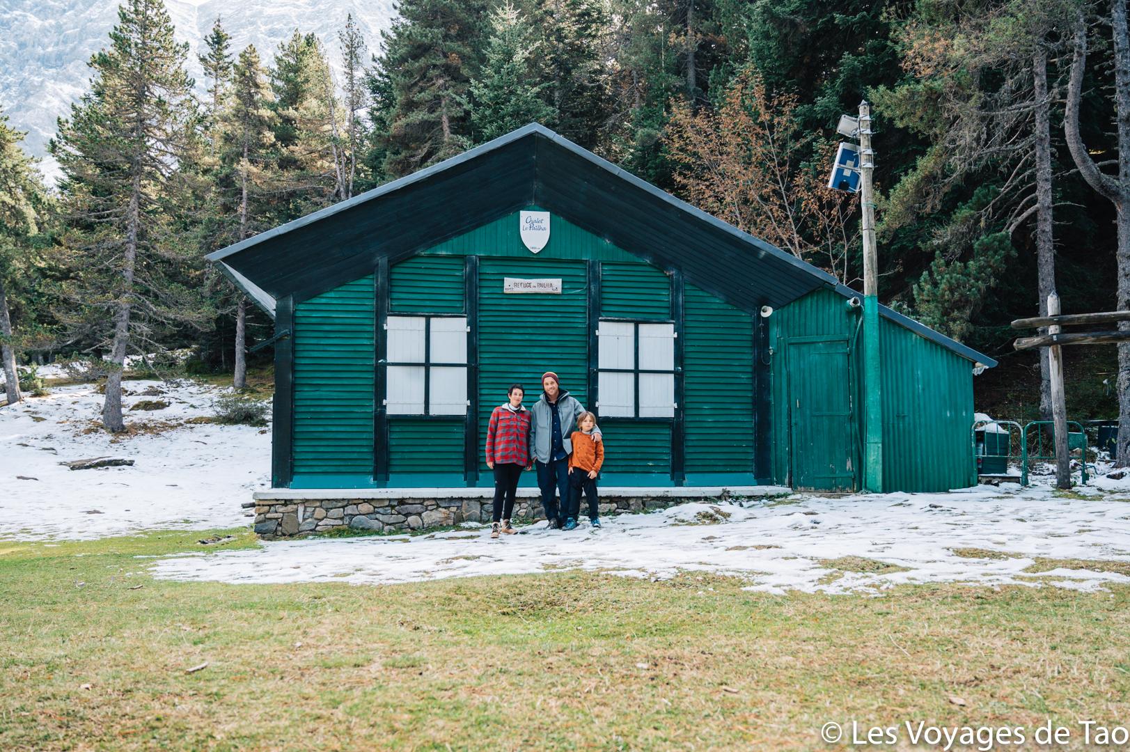 Refuge de Pailha Pyrénées