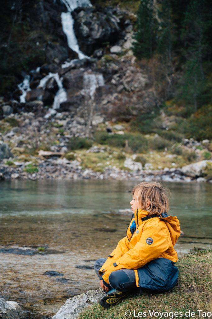 Randonnée Val d'Azun en famille