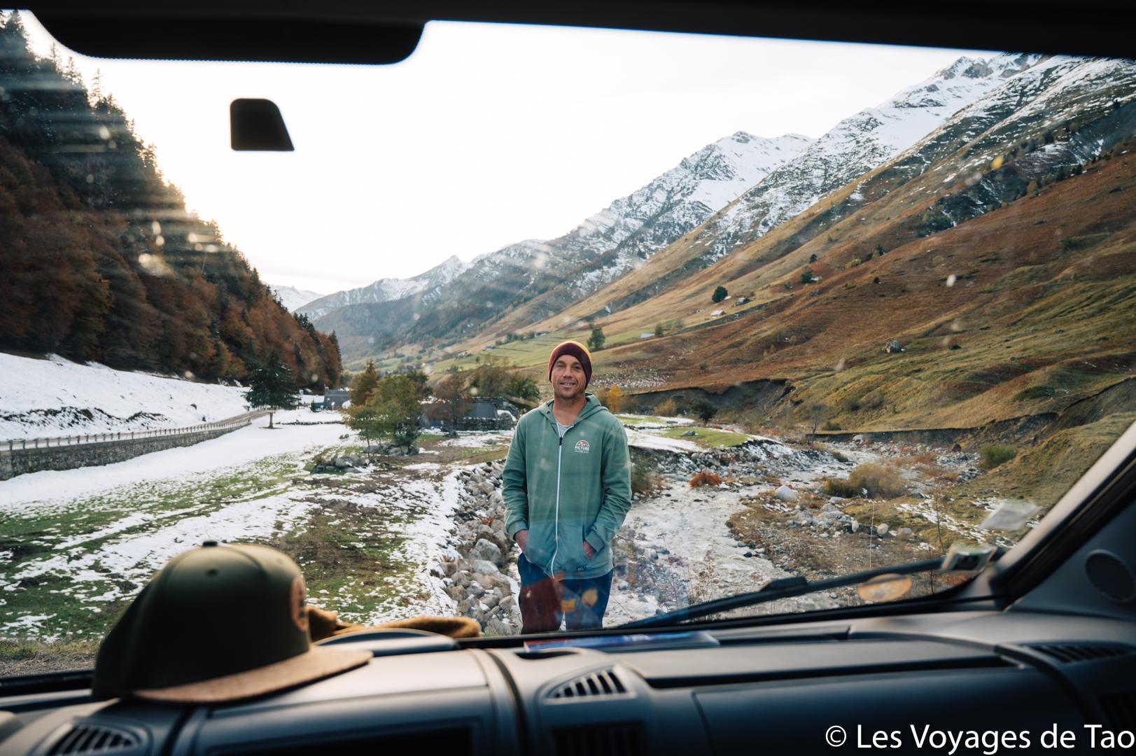 Roadtrip en van en famille Pyrénées