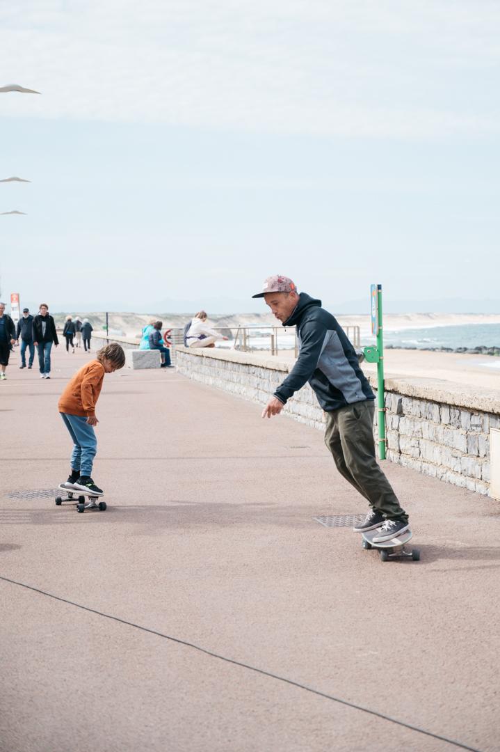 skate en famille cap breton