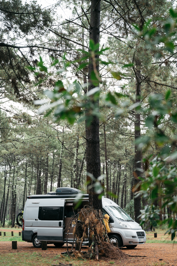 Aire du vivier biscarrosse