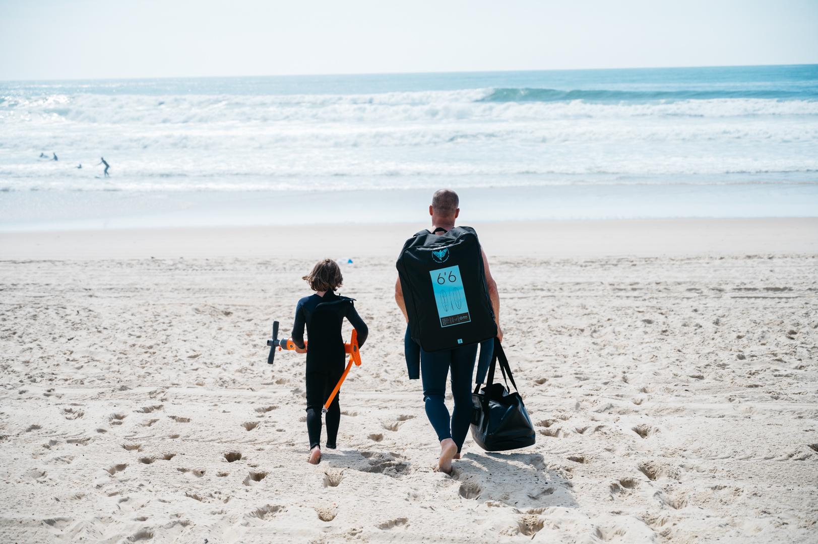Surftrip landes en famille