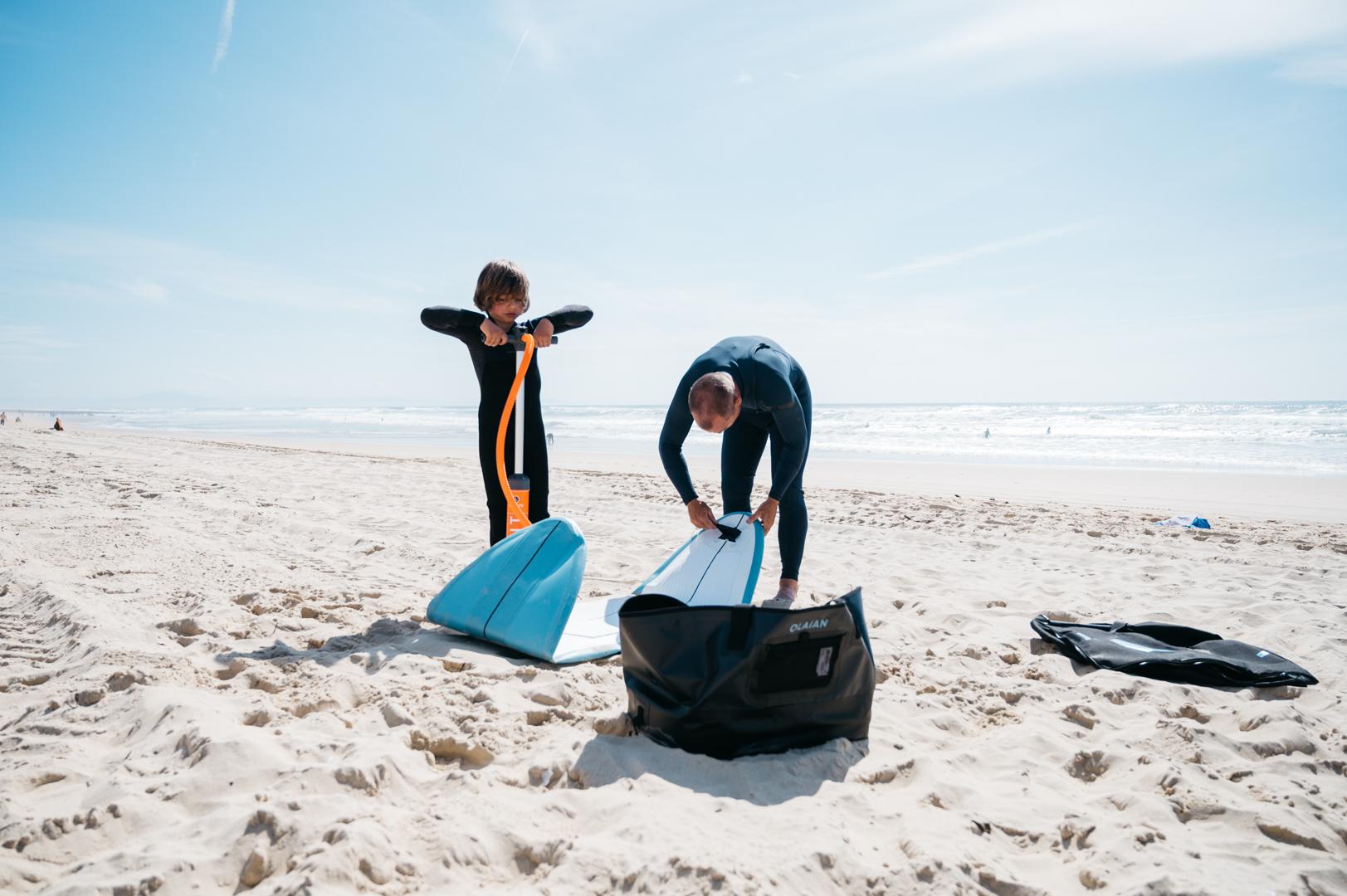 Surf gonflable décathlon
