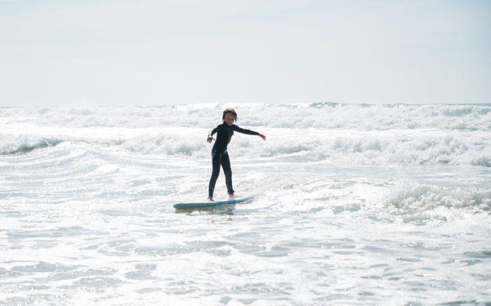 Surf en famille