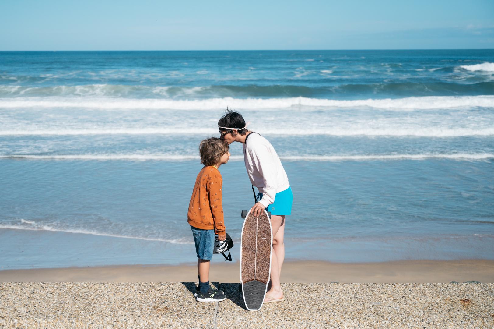 Voyager en famille en van pays basque
