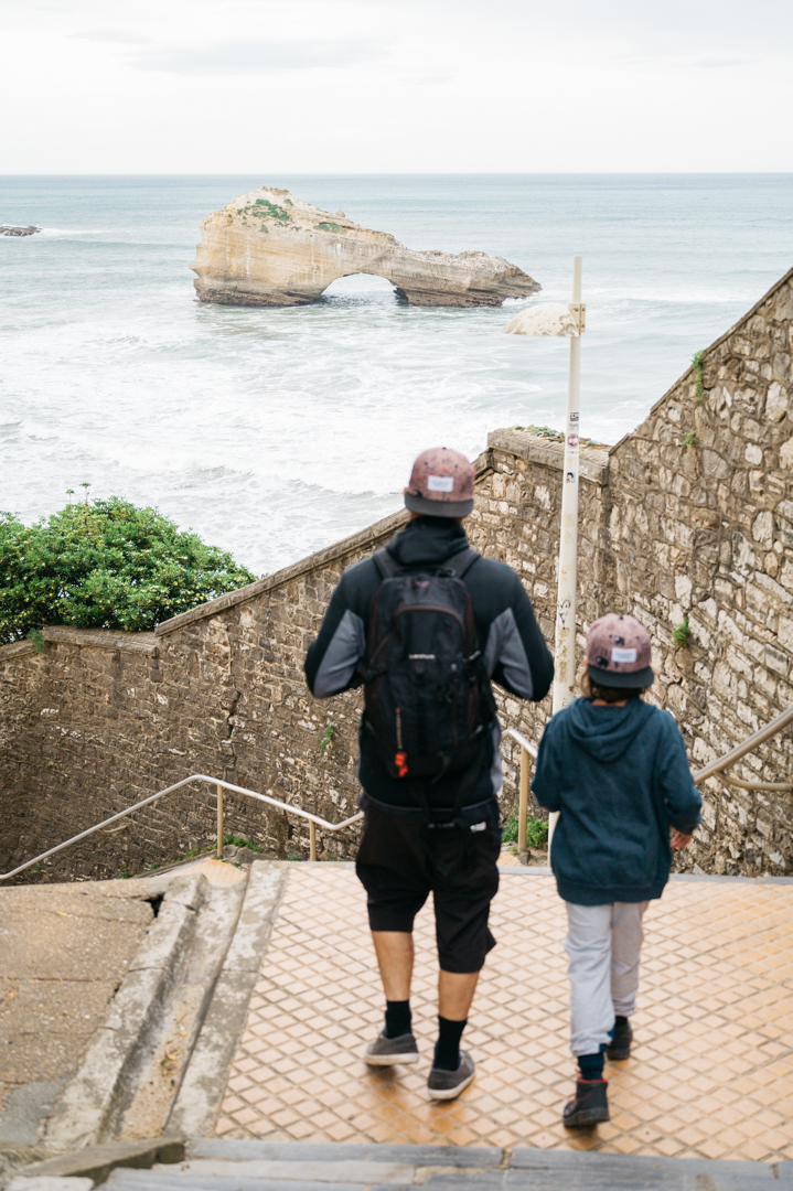 De anglet à Biarritz à pieds