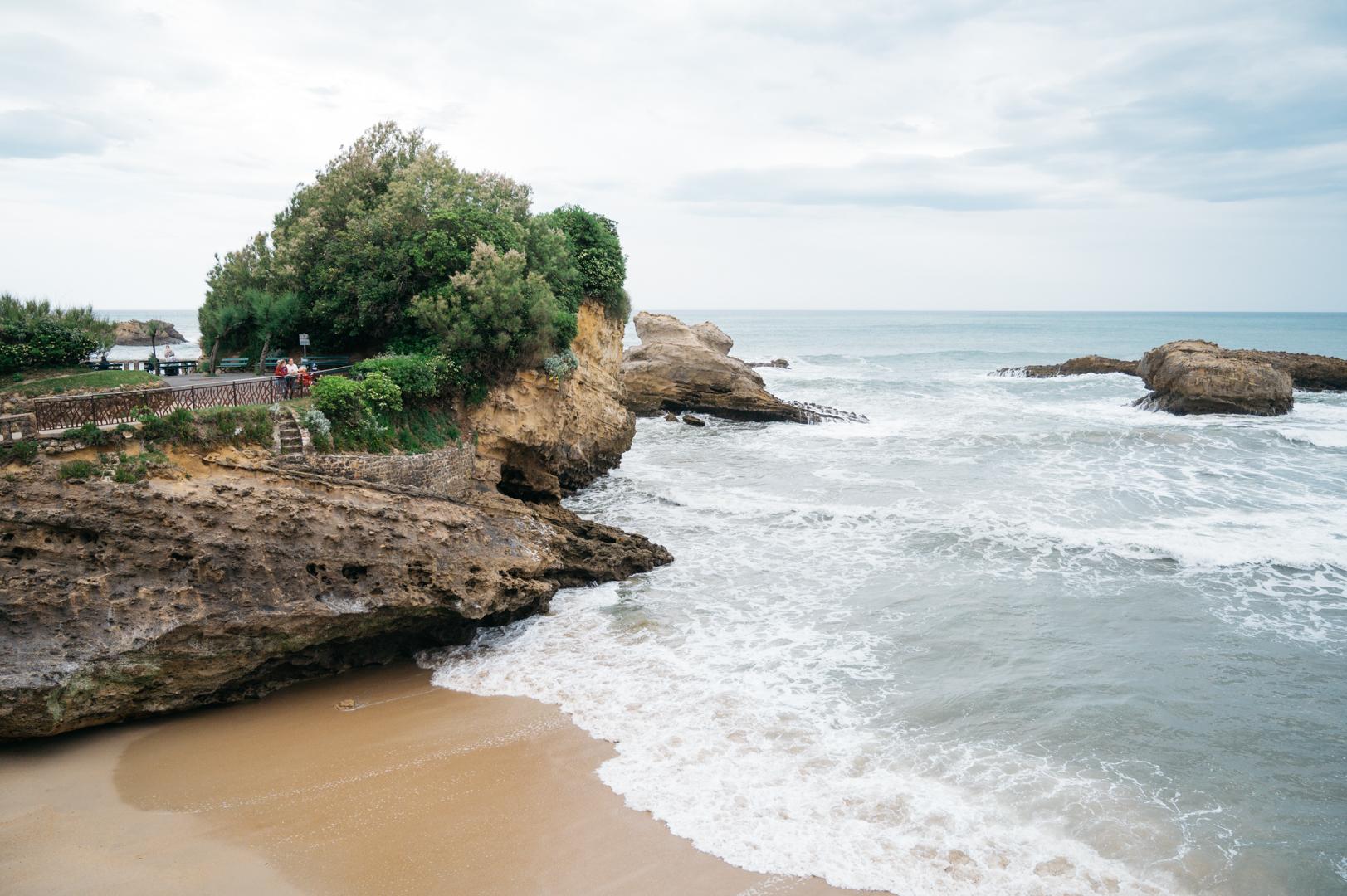 Biarritz en van