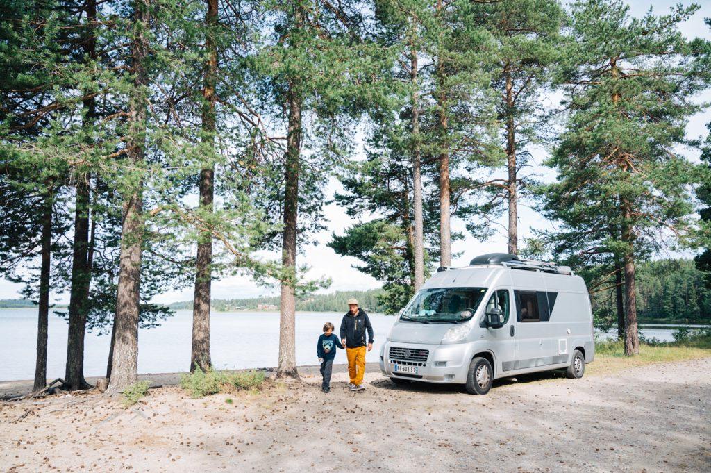 Suède roadtrip en famille
