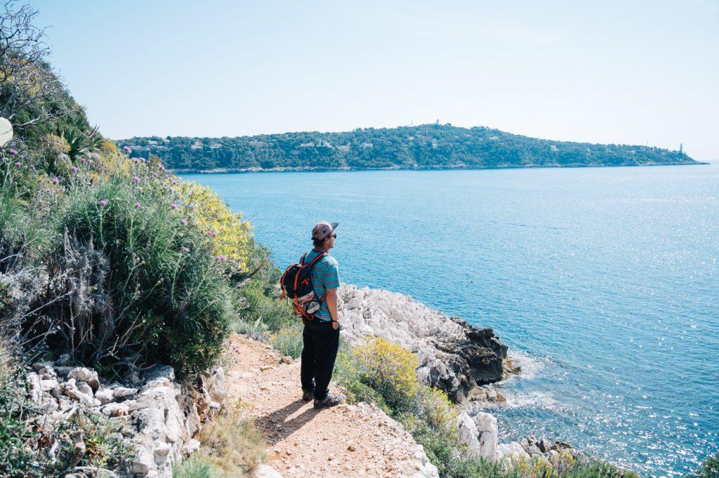 Sentier littoral Villefranche sur mer