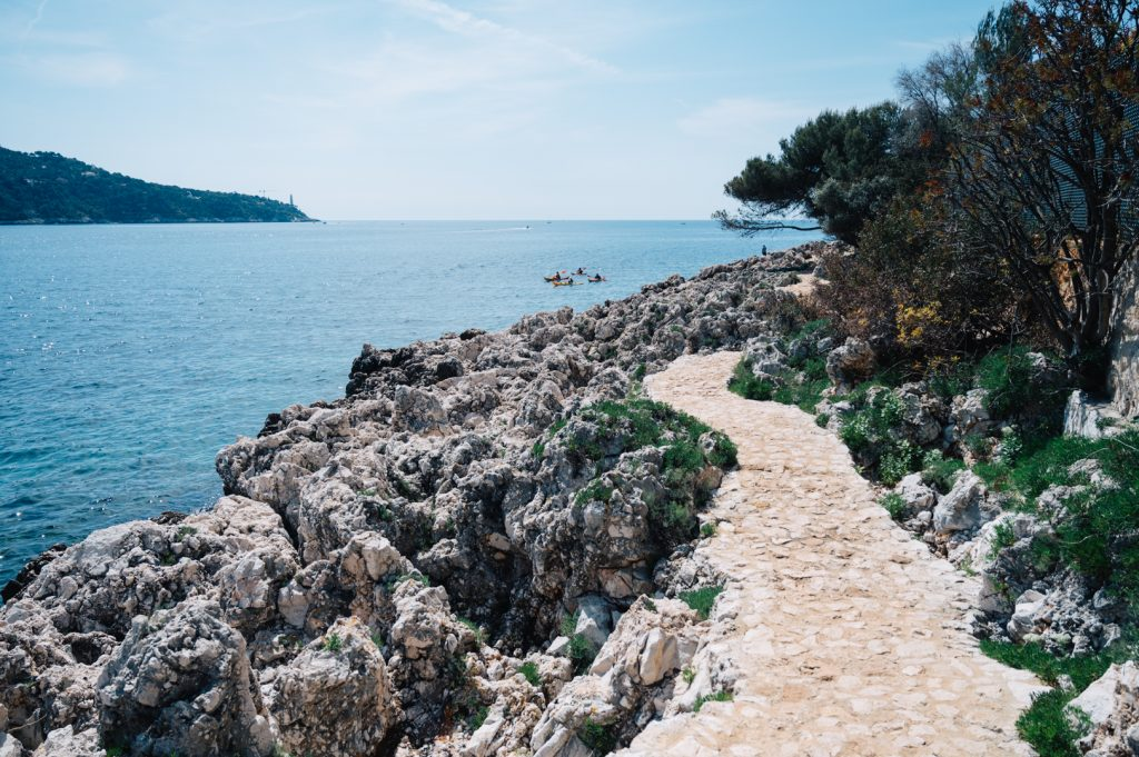 Sentier du littoral Villefranche sur mer