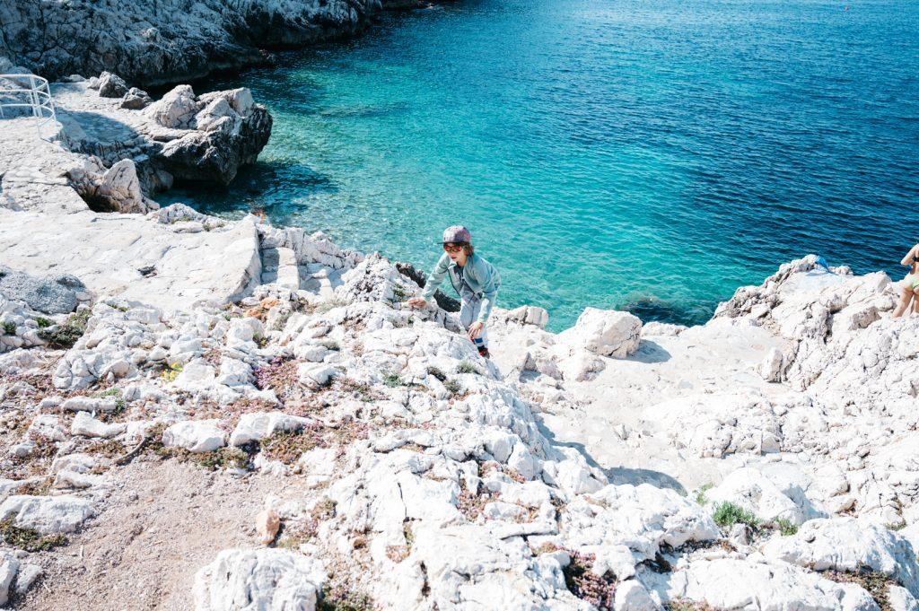 Cap de Nice avec enfants