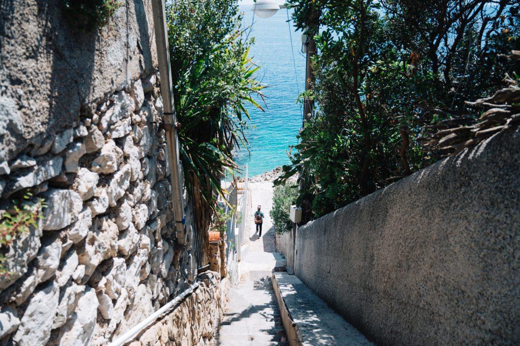 Sentier du littoral Nice