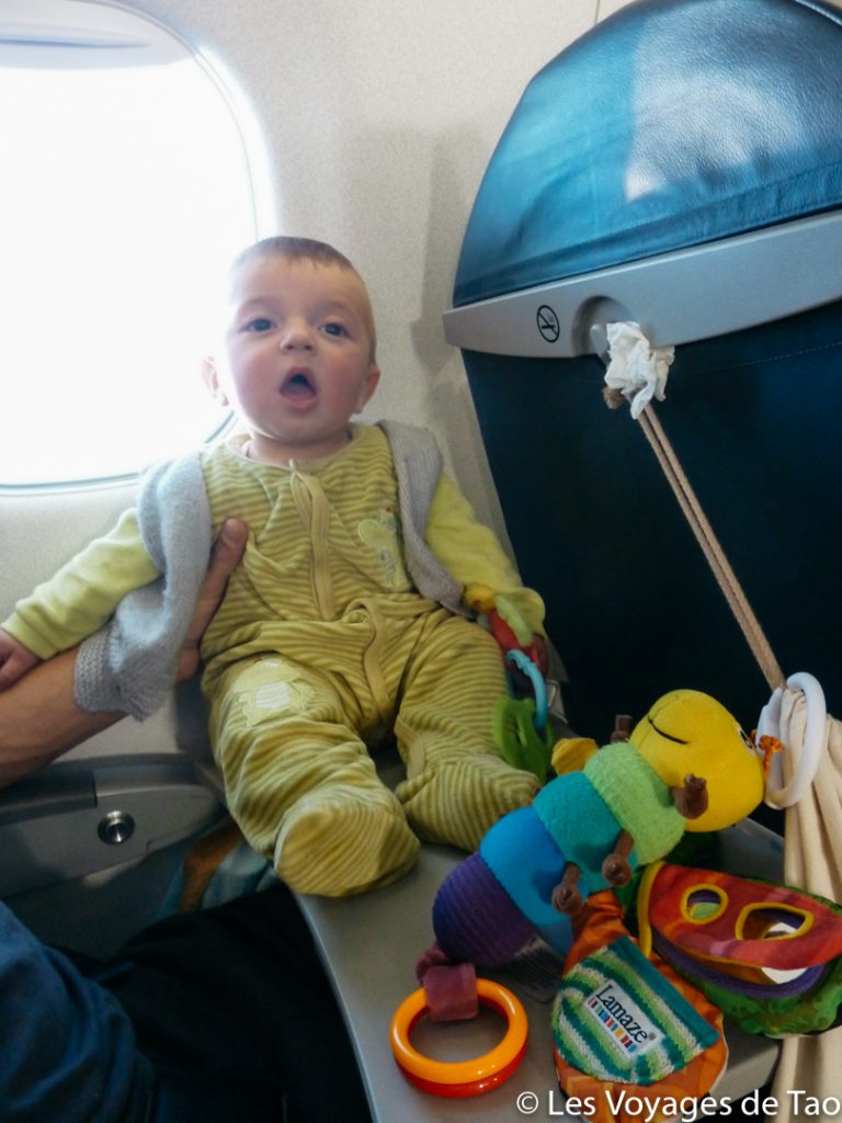 Quand voyager avec son enfant
