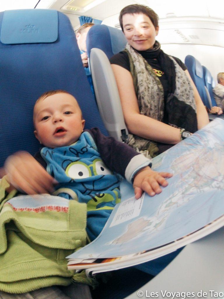 Quand voyager avec un enfant