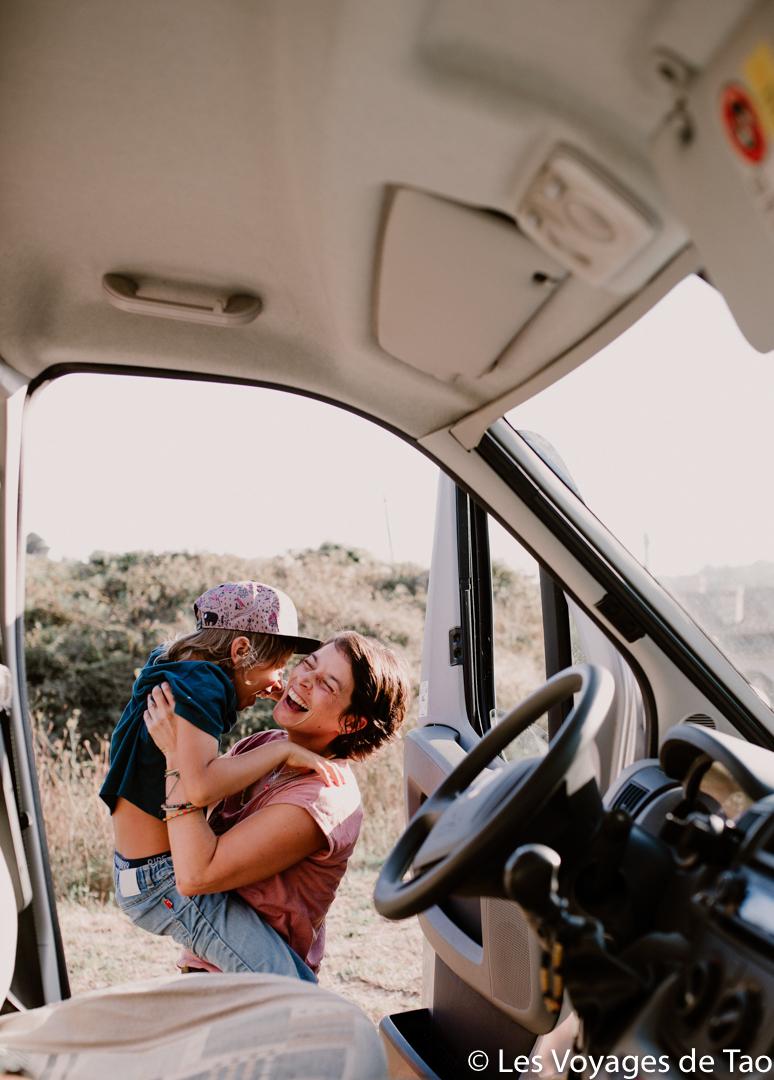 Voyager en Van avec des enfants