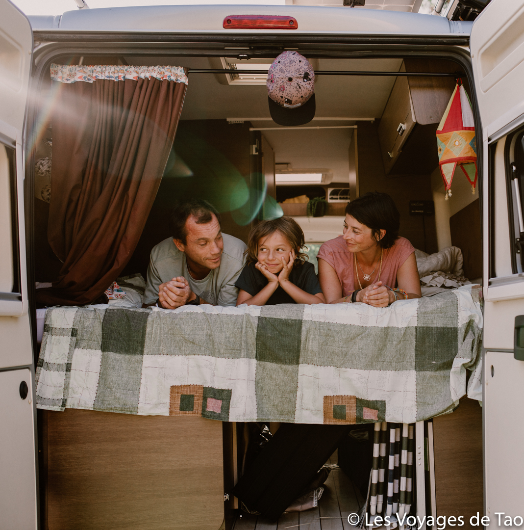 Idées dormir en Van avec des enfants