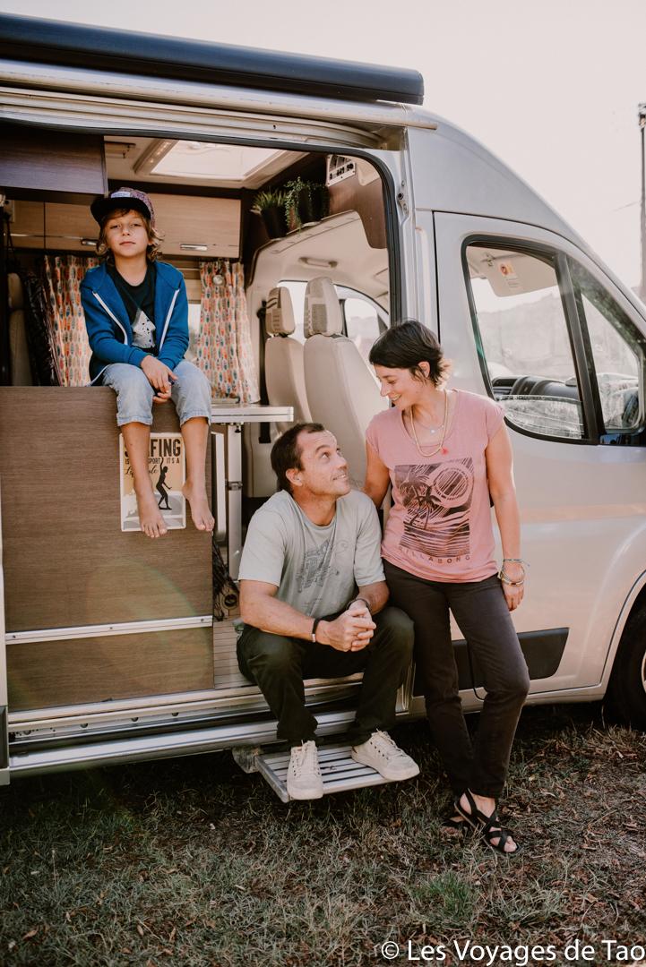 Blog vanlife en famille