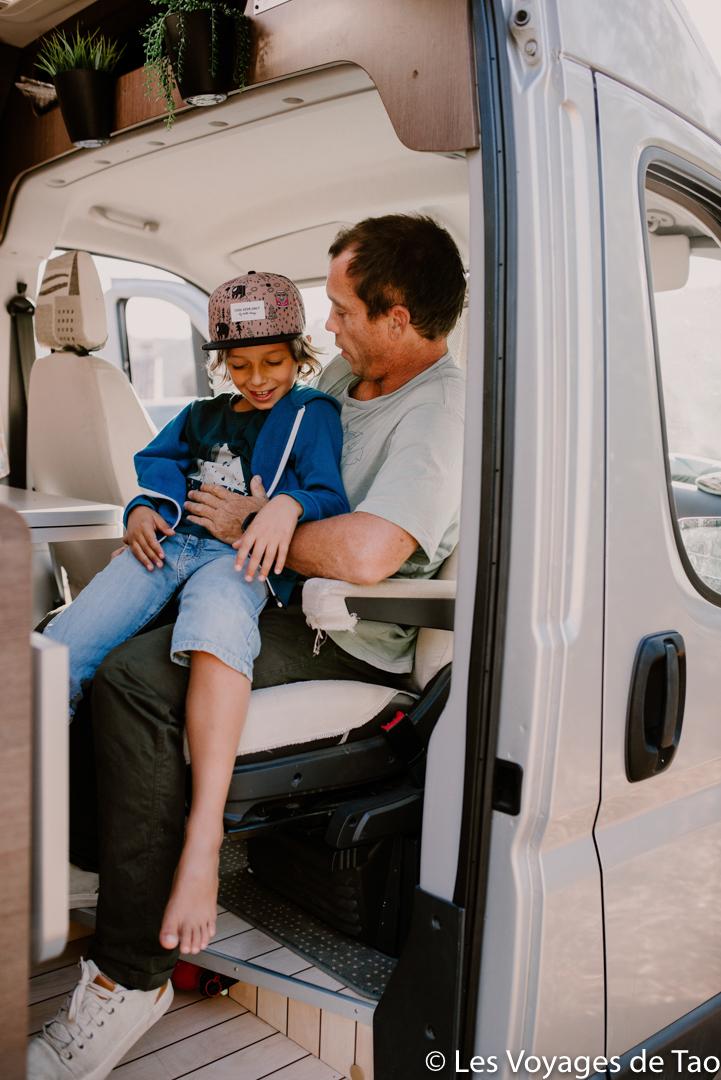 Roadtrip Van avec un bébé