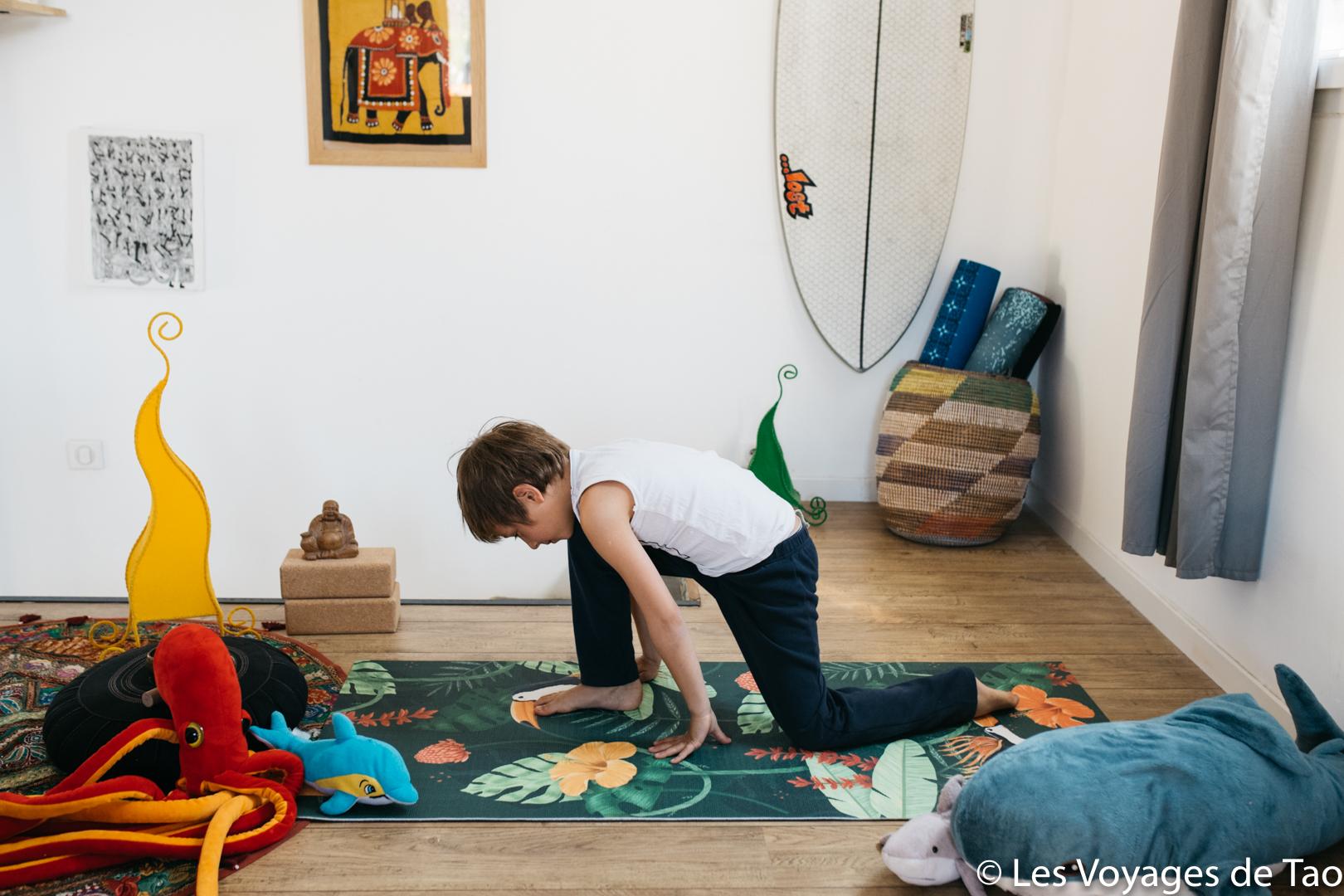 Pratiquer le Yoga avec son enfant