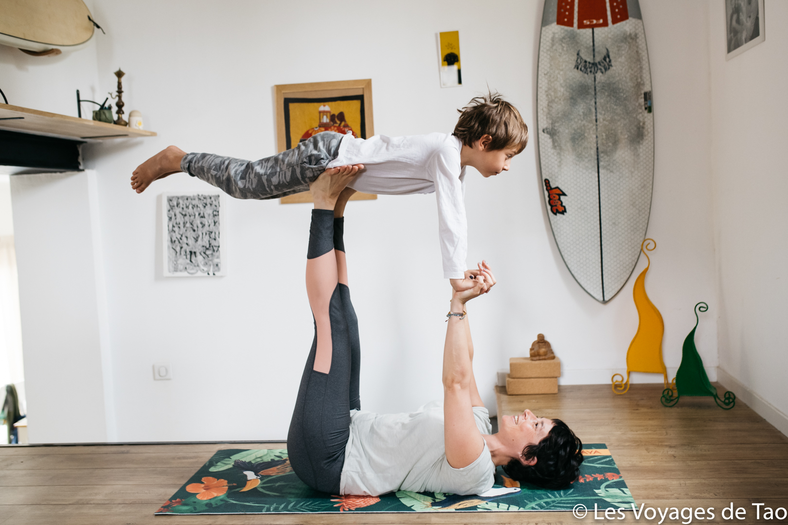 Yoga avec son enfant