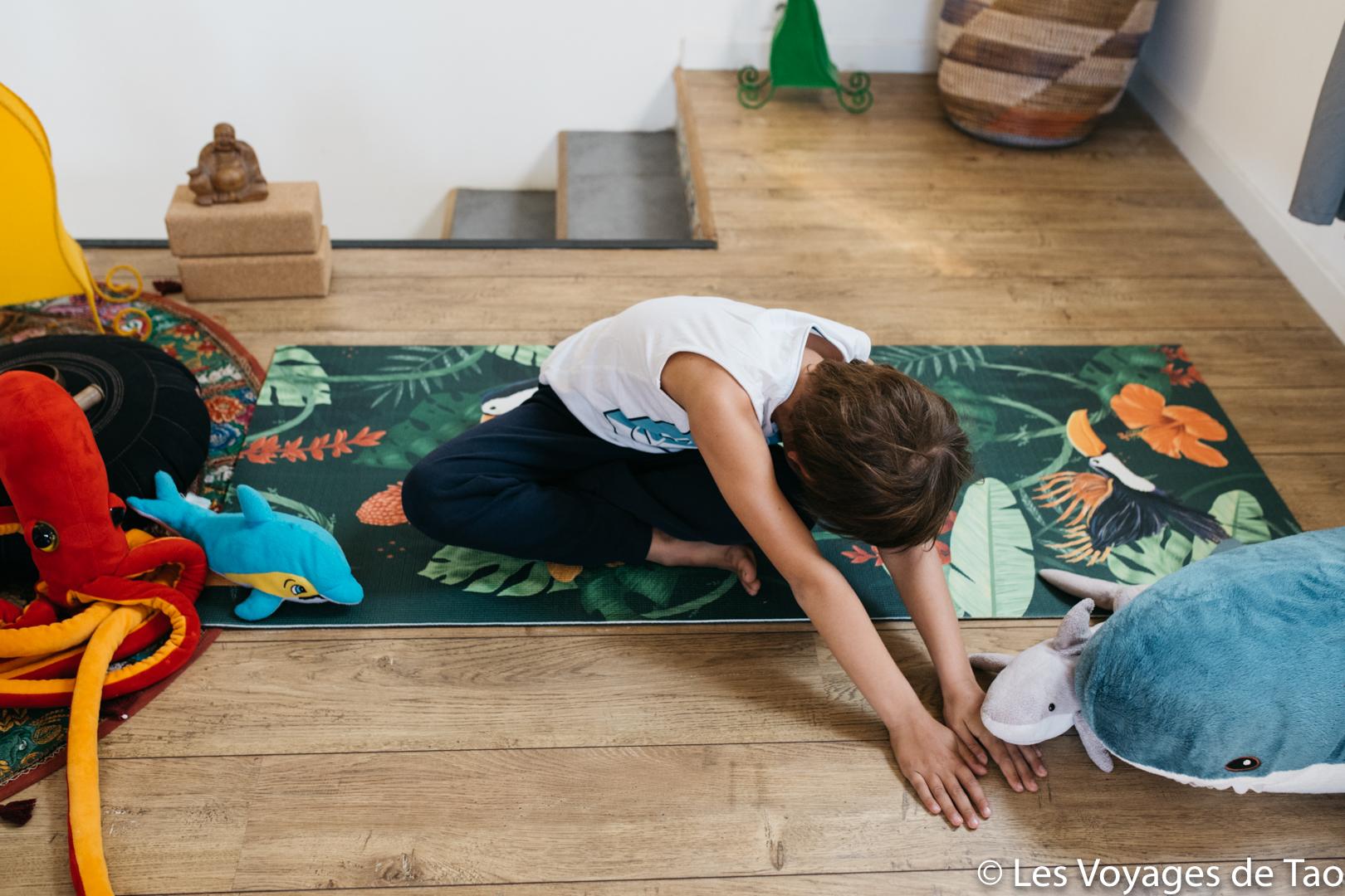 Cours de Yoga enfant en ligne