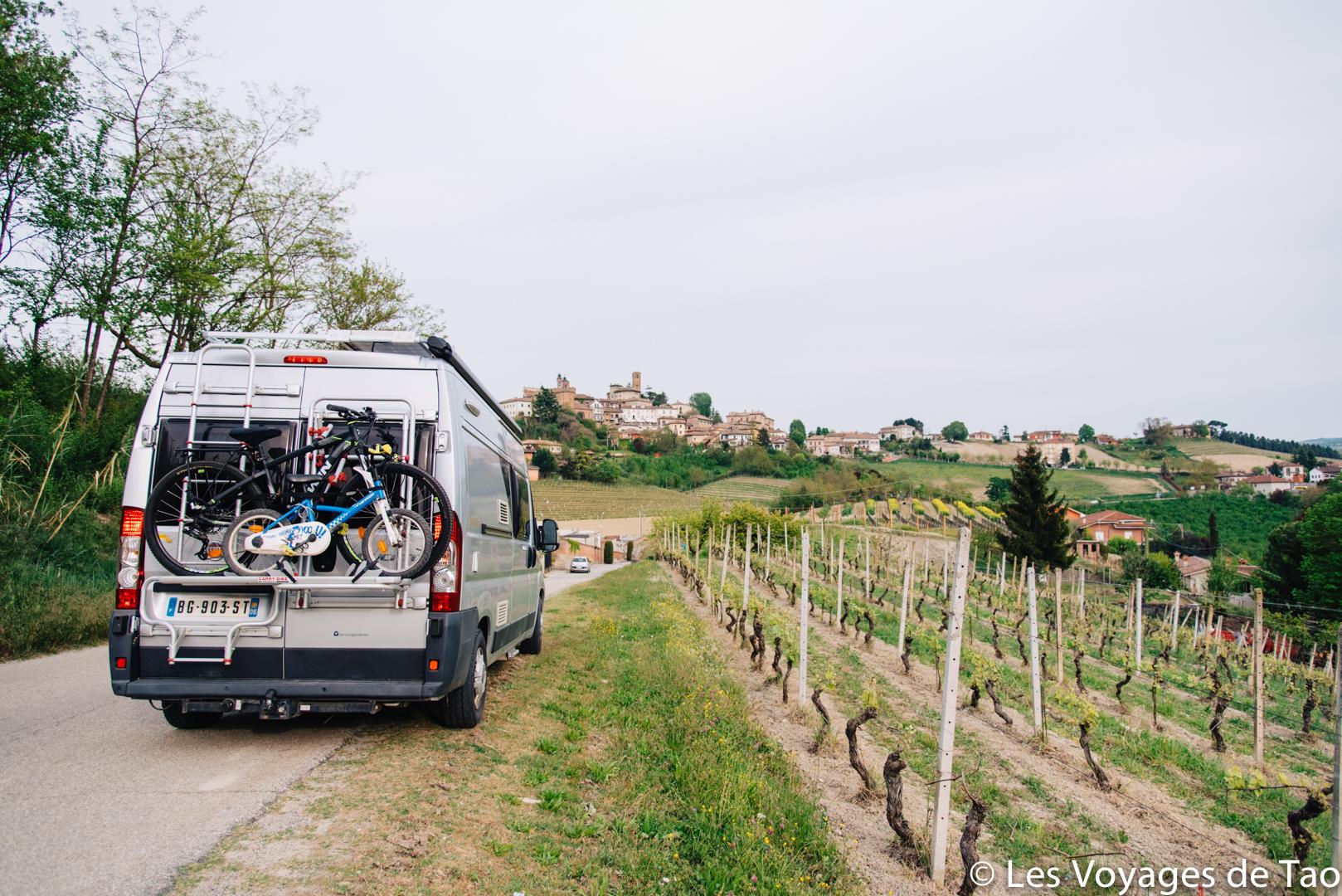 Camion en italie en famille